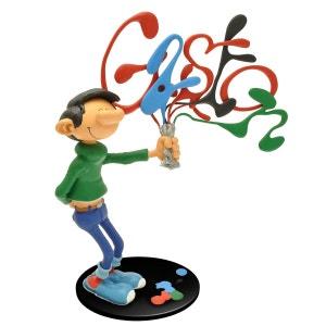 Figurine collectoys : Gaston Lagaffe et son tube de peinture PLASTOY