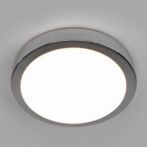 Plafonnier salle de bain LED Aras chromé brillant LAMPENWELT