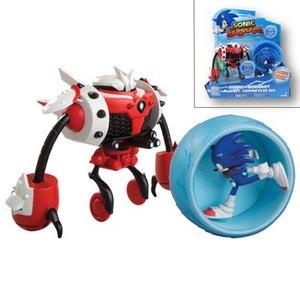 SONIC - Set de combat Sonic VS Burn-bot Sonic Boom TOMY