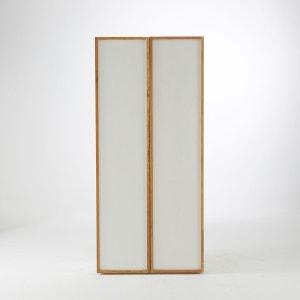 Armoire 2 portes/5 étagères chêne massif, Compo La Redoute Interieurs