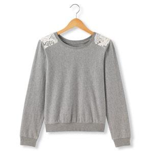 Sweater met kant aan de schouders R pop