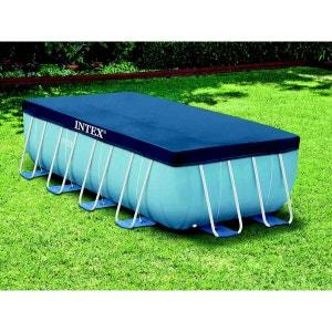 Bâche de protection pour piscine tubulaire rectangulaire 4,00 x 2,00 m - Intex INTEX