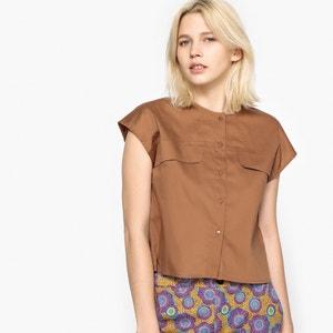 Bluzka bez rękawów z kieszeniami z przodu La Redoute Collections