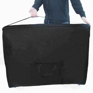 Housse de transport noire à roulettes pour table de massage VIVEZEN