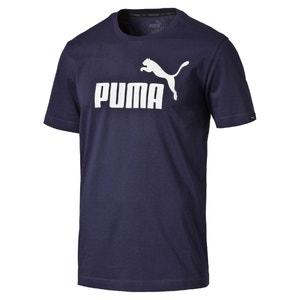 Bawełniana koszulka z okrągłym dekoltem PUMA
