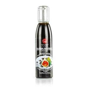 Crème balsamique à la figue - Bouteille plastique 180g LA COLLINA TOSCANA