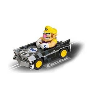 Voiture pour circuit Carrera Go Mario Kart DS : Wario brute CARRERA