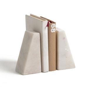 Serre-livres en marbre MAREN (lot de 2) La Redoute Interieurs