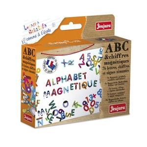 Lettres ABC et chiffres magnétiques JEUJURA