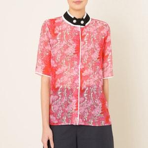 Bedrukte blouse CARVEN