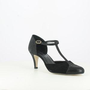 Leather T-Bar Shoes JONAK