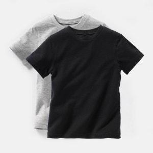 T-shirt manches courtes 3-12 ans (lot de 2) R Edition