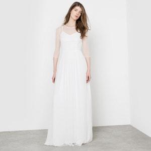Długa sukienka DELPHINE MANIVET X LA REDOUTE MADAME
