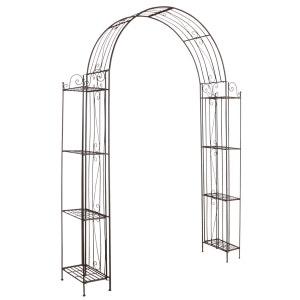 Arche de jardin pour plante grimpante en métal vieilli AUBRY GASPARD