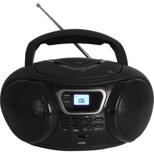 Radio CD ESSENTIELB Rumba USB Noir ESSENTIEL B