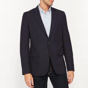 Veste de costume coupe slim rayée R Edition
