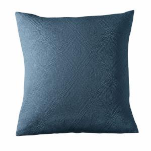 Housse coussin ou oreiller coton jacquard, INDO La Redoute Interieurs image