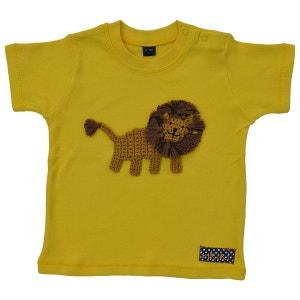 T-shirt bébé lion brodé coton RIKIKI KIDS