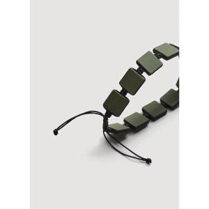 Bracelet pièces carrées MANGO MAN