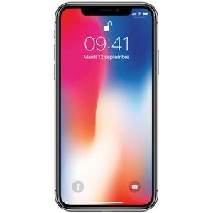 Smartphone APPLE iPhone X Gris Sidéral 64 Go APPLE