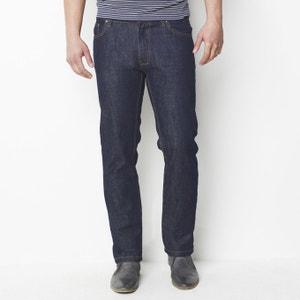 Jeans 5 bolsos, regular (corte direito), comp. 34 R édition