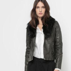 Faux Fur Collar Jacket KAPORAL 5