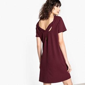 Sukienka z krótkim rękawem, fantazyjny tył MADEMOISELLE R