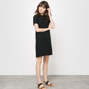 Short-Sleeved Shift Dress R essentiel