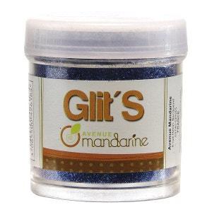 Paillettes Glit'S 45g : Bleu Roy AVENUE MANDARINE