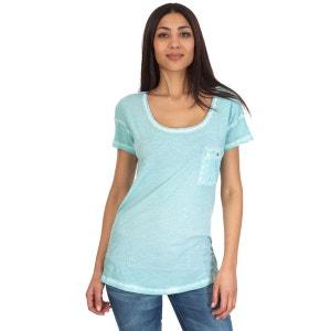 T-shirt à manches courtes Disca Bleu SEVEN TEES