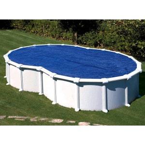 Bâche à bulles Gré pour piscine en huit 6,40 x 3,90 m GRE