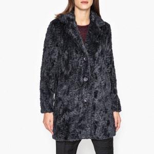 Manteau en tissu aspect fourrure VRILLE COAT HARTFORD