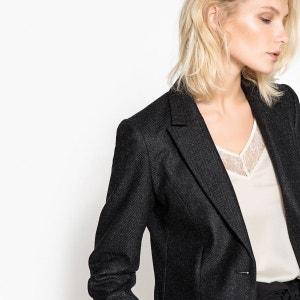 Veste tailleur tweed La Redoute Collections