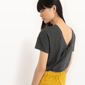 T-shirt avec décolleté dos en V R Edition