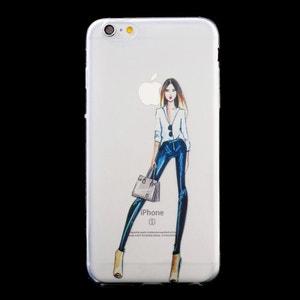 Coque souple La Parisienne Fashion pour iPhone 6/6S AMAHOUSSE