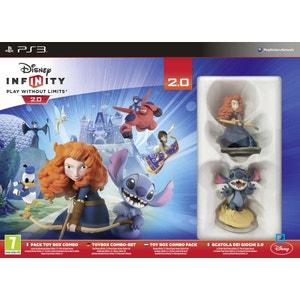 Pack Toy Box Combo : Disney Infinity 2.0 PS3 DISNEY INTERACTIVE STUDIOS