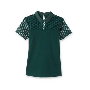 T-shirt met hemdskraag MADEMOISELLE R