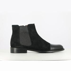 Leren boots Dhov JONAK