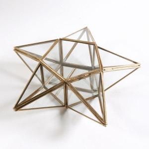 Boîte à bijoux étoile verre laiton Uyova La Redoute Interieurs