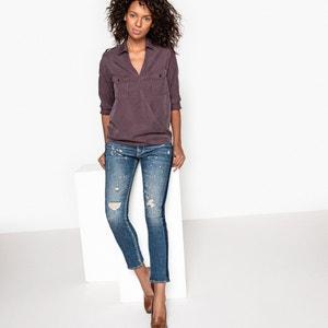 Regular Straight Leg Denim Jeans LE TEMPS DES CERISES