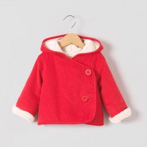 Cappotto in velluto fodera effetto montone 0 mesi-3 anni R mini