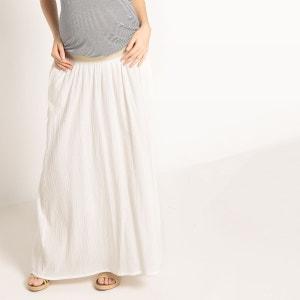 Jupe longue de grossesse R essentiel