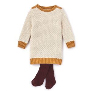 Ensemble robe + collants 1 mois - 3 ans La Redoute Collections