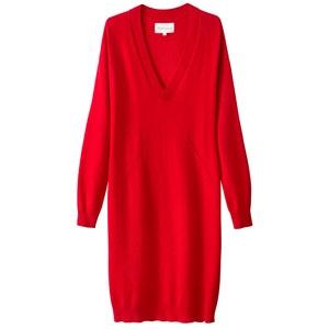 Sukienka swetrowa, dlugi rekaw SUD EXPRESS