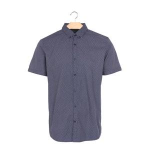 Bedrukt hemd met korte mouwen TOM TAILOR