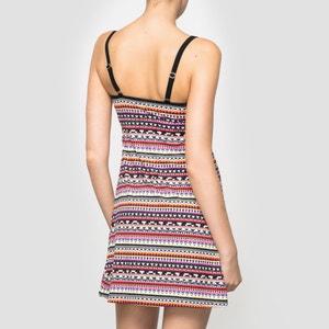Printed Beach Dress BANANA MOON