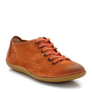 Sapatos estilo derbies em pele nubuck polida, Hollyday KICKERS