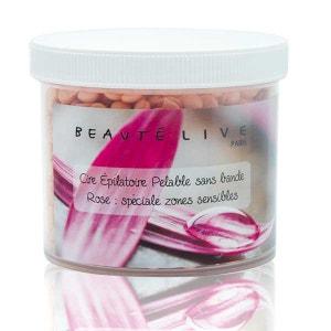 Cire épilation zones sensibles sans bande, parfum rose, Beautélive BEAUTELIVE