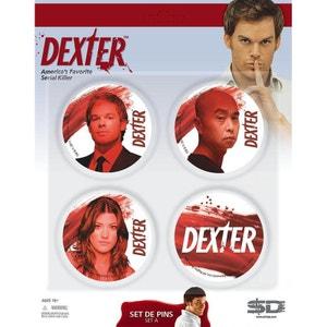 Dexter - Set de 4 Badges (set A) SD TOYS