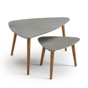 Julma Set of 2 Nesting Garden Side Tables La Redoute Interieurs
